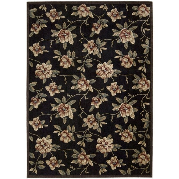 Nourison Cambridge Black Rug (9'6 x 13')