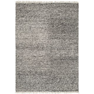 Hand-Woven Luther Solid Reversible Rug (10' x 14')
