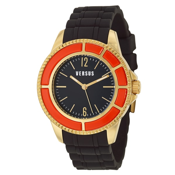 Versus Versace Men's 'Tokyo' Stainless Steel Yellow Gold Ion Plated Quartz Watch