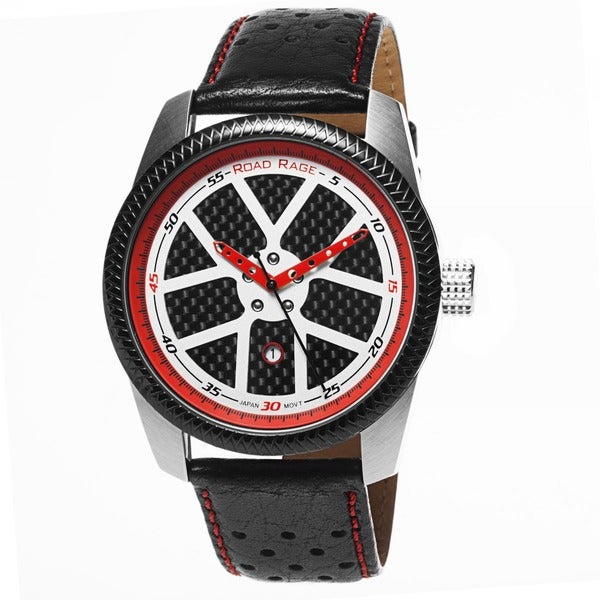 Road Rage Leather Sports Car Inspired Watch