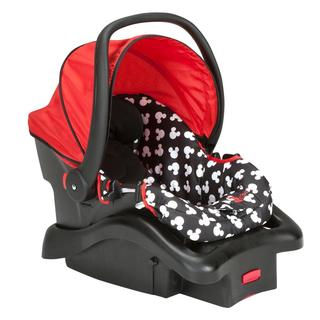 Cosco Light 'N Comfy Luxe Infant Car Seat in Mickey Silhouette