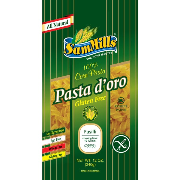Sam Mills Fusilli Gluten-free Corn Pasta (4 Pack)