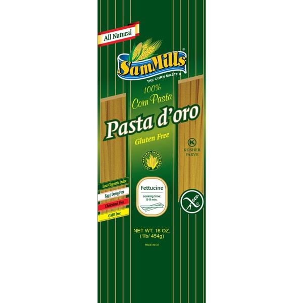 Sam Mills Fettuccine Gluten-free Corn Pasta (4 Pack)