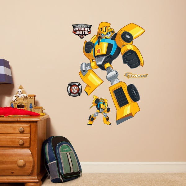 Fathead Jr. Transformers Bumble Bee Wall Decals