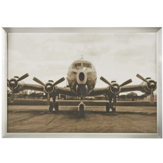 'Vintage Airplane' Framed Wall Art Print