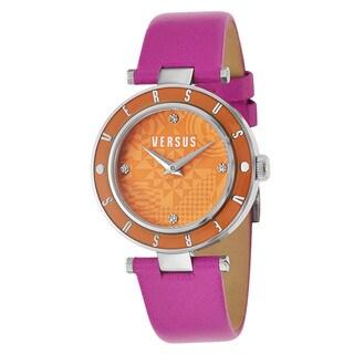 Versus Versace Women's 'Logo' Pink Quartz Watch