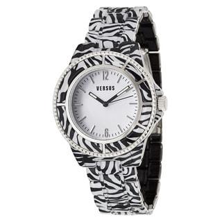 Versus Versace Women's 'Tokyo' Zebra Quartz Watch