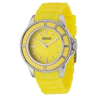 Versus Versace Women's 'Tokyo' Yellow Quartz Watch