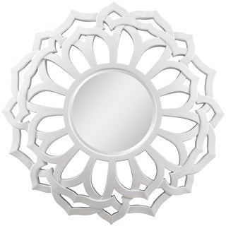 Jenny White Beveled Mirror