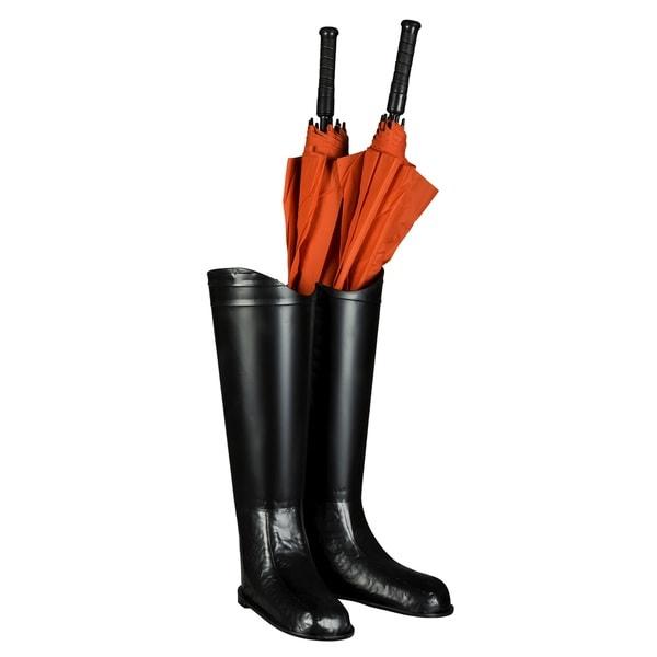 Cooper Classics Barkley Black Metal Umbrella Stand