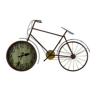 Cooper Classics Clyde Bicycle Wall Clock