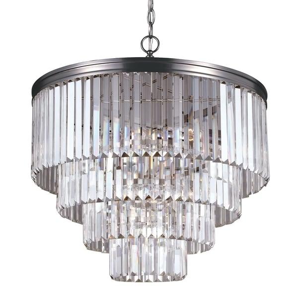 Carondelet 6 Light Antique Brushed Nickel Chandelier 17074105 Shopping Great