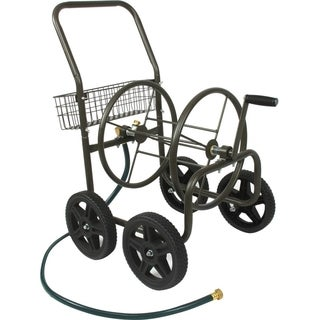 Liberty Garden 871-S Four Wheel Hose Cart with Flat-Free Tires