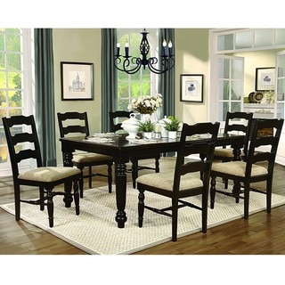 Rosie Cecilia Two Toned 7-piece Extending Dining Set