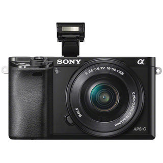 Sony a6000 24MP Black Digital Camera with 16-50mm Lens