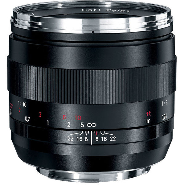 Zeiss 50mm f/2.0 Makro-Planar ZE Macro Lens for Canon EF Mount SLRs
