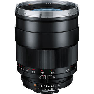 Zeiss Distagon T 35mm F/1.4 ZF.2 Lens for Nikon F Mount