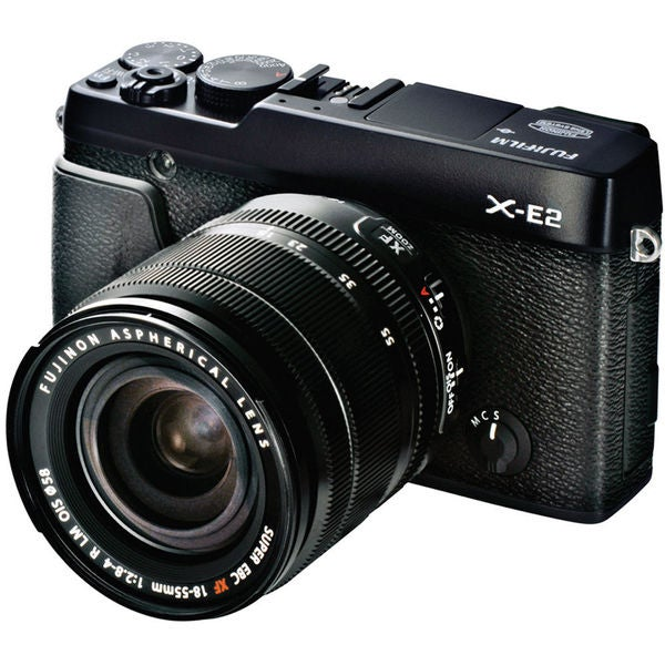 Fujifilm X-E2 Mirrorless Digital Camera with 18-55mm Lens Black