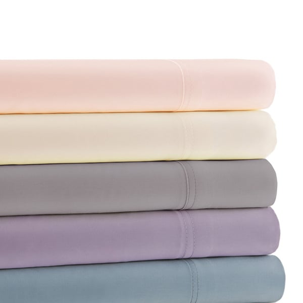 600 Thread Count 100-percent Cotton 4-piece Sheet Set