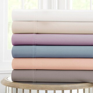 600 Thread Count 100-percent Cotton 4-piece Sheet Set
