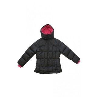 Girls' Black Winter Jacket (7-16)