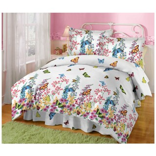 Butterfly Collage 4-piece Comforter Set