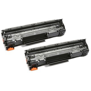 Pack of 2 Canon 137 High-yield Black Toner Cartridges (Refurbished)