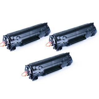 Pack of 3 Canon 137 High-yield Black Toner Cartridges (Refurbished)