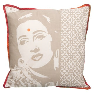 Bollywood Cotton Cover Cushion (India)