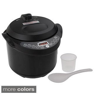 Cook's Essentials 4-quart Digital Pressure Cooker with Slow Cook Function
