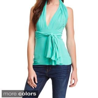Von Ronen Women's Convertible Versatile Twist and Wrap Top