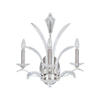 Paradise 3-light Silver Wall Sconce