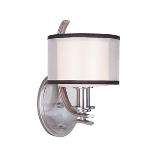 Orion 1-light Nickel Wall Sconce