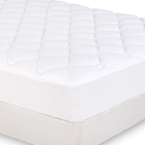 Extra Plush Fitted Mattress Pad Overstock