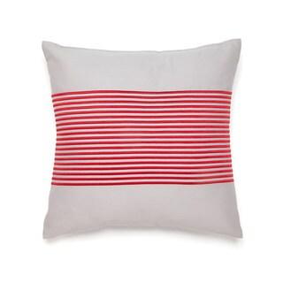 IZOD Beacon Stripe Square Decorative Throw Pillow