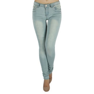 High Brand 'H49-PS' Women's Mid-rise Skinny Jeans