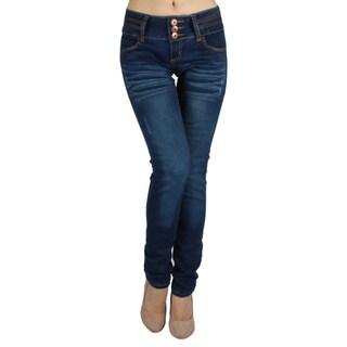 High Brand 'H07-HPS' Women's Mid-rise Skinny Jeans