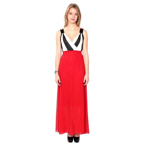 Nancy Yang Fashion Maxi Stylish Chiffon Dress