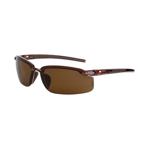 Fortitude Protective Eyewear Crystal Brown HD Polarized Brown