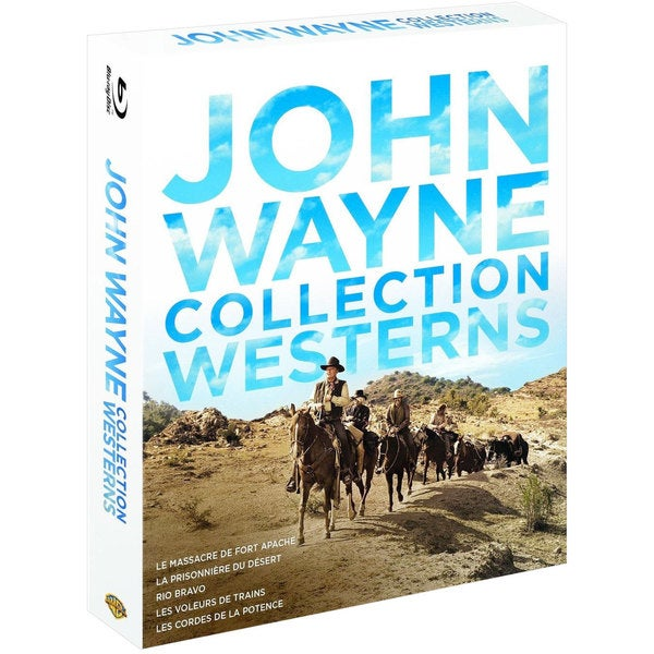 John Wayne Western Collection (Blu-ray Disc) 14936452