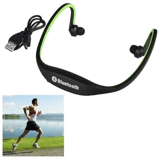 Insten Universal Sport Wireless Bluetooth 3.0 Headset with USB Charging Cable