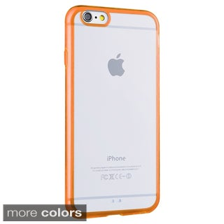 Insten Bumper Frame TPU Rubber Candy Skin Phone Case Cover For Apple iPhone 6