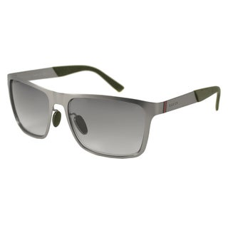 Gucci GG2238S Men's Rectangular Sunglasses