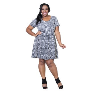 Sealed with a Kiss Women's Plus Size 'Alison' Dress