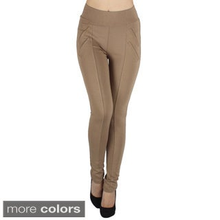 Shadylady Women's Khaki High Rise Leggings
