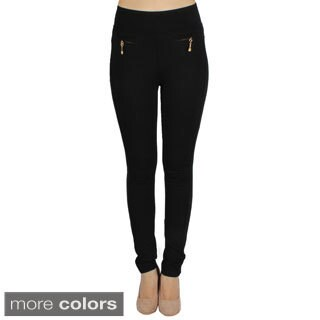 Shadylady Women's Black High Rise Leggings