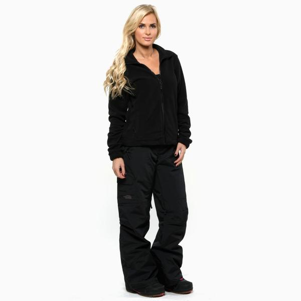 The North Face Women's Black Freedom LRBC Insulated Pant