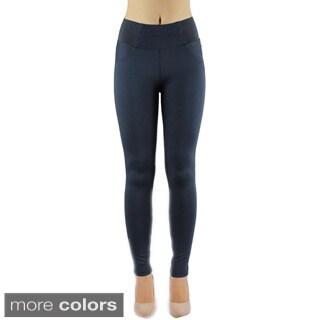 Shadylady SH015 Women's High Rise Jean Legging