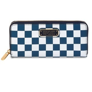 Marc by Marc Jacobs New Q Checkerboard Slim Zip Wallet