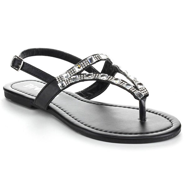 Diviana Women's Moira-09A Sling Back Sandals